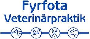 Fyrfota Veterinärpraktik AB logo