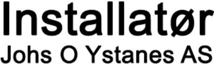 Installatør Johs O Ystanes AS logo