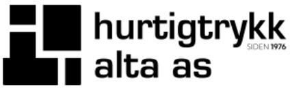 Hurtigtrykk Alta AS logo