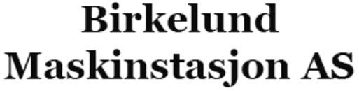 Birkelund Maskinstasjon AS logo
