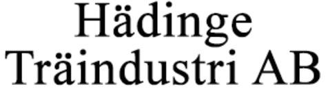 Hädinge Träindustri AB logo