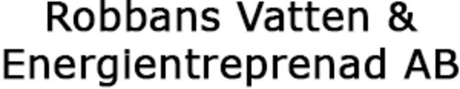Robbans Vatten & Energientreprenad AB logo