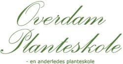 Overdam Planteskole logo