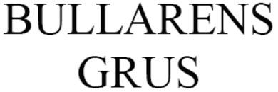 BULLARENS GRUS logo