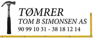 Tømrerfirma Tom Børre Simonsen AS logo