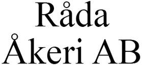 Råda Åkeri AB logo
