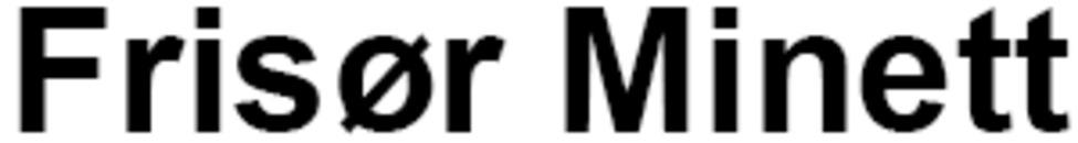 Frisør Minett logo