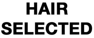 Hair selected logo