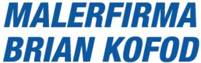 Malerfirma Brian Kofod logo