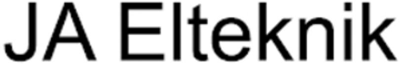JA Elteknik logo