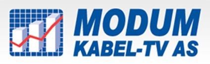 Modum Kabel-TV og RingNett AS logo