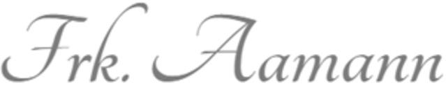 Frk. Aamann Flower Design logo