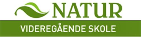 Natur videregående skole logo
