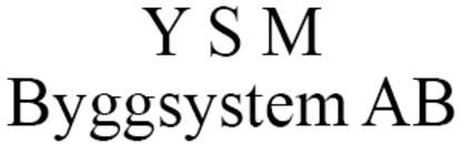 Y S M Byggsystem AB logo