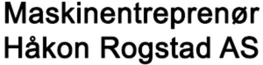 Maskinentreprenør Håkon Rogstad AS logo