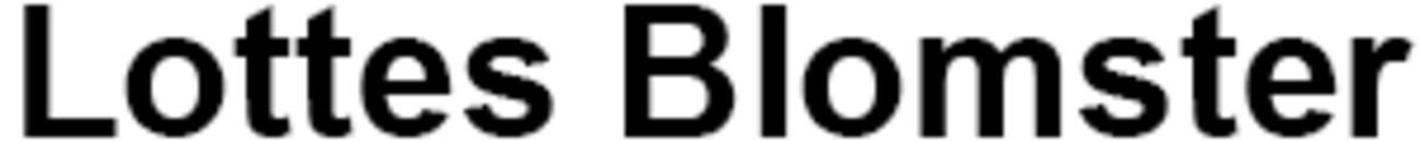 Lottes Blomster logo