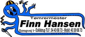 Tømrermester Finn Hansen logo