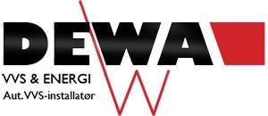 DEWA VVS & ENERGI A/S logo