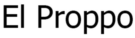 El Proppo logo