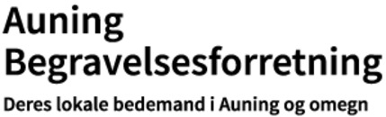 Auning Begravelsesforretning logo