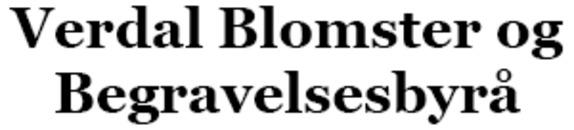 Verdal Blomster og Begravelsesbyrå logo