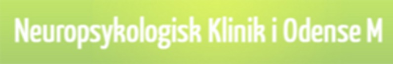 Neuropsykologisk Klinik i Odense M logo