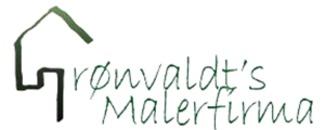 Grønvaldt's Malerfirma logo