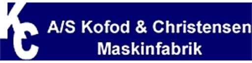 A/S Kofod og Christensen Maskinfabrik logo
