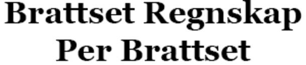 Brattset Regnskap Per Brattset logo