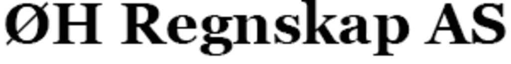 Ø. H. Regnskap Autorisert Regnskapsførerselskap logo