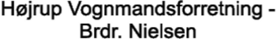Højrup Vognmandsforretning - Brdr. Nielsen logo