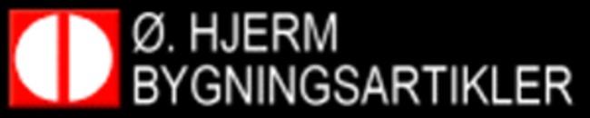 Ø. Hjerm Bygningsartikler logo