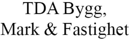 TDA Bygg, Mark & Fastighet logo