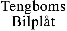 Tengboms Bilplåt logo