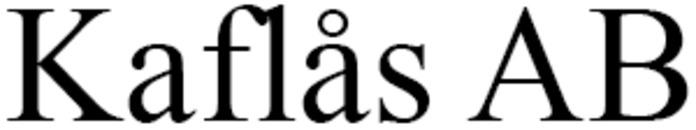 Kaflås AB logo