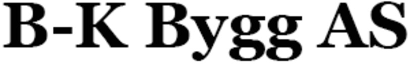 B-K Bygg AS logo