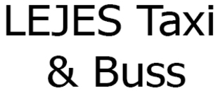 LEJES Taxi & Buss AB logo