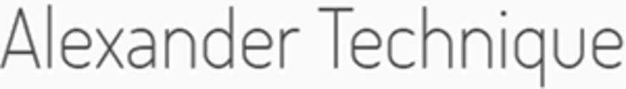 Lærer i Alexanderteknik v/Mary McGovern logo