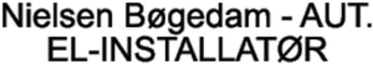 Nielsen Bøgedam - AUT. EL-INSTALLATØR logo