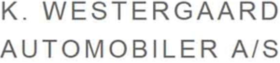 K. Westergaard Automobiler A/S logo