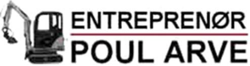Entreprenør Poul Arve logo