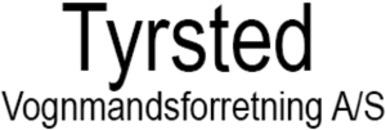 Tyrsted Vognmandsforretning A/S logo