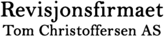 Revisjonsfirmaet Tom Christoffersen AS logo