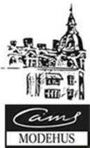 Cams Modehus logo