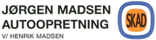 Jørgen Madsen Autoopretning v. Henrik Madsen logo