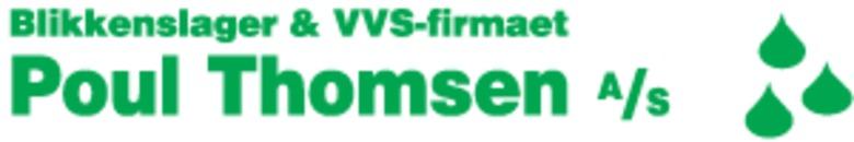 Blikkenslager- og VVS-Firmaet Poul Thomsen A/S logo