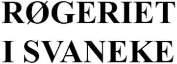 Røgeriet i Svaneke logo