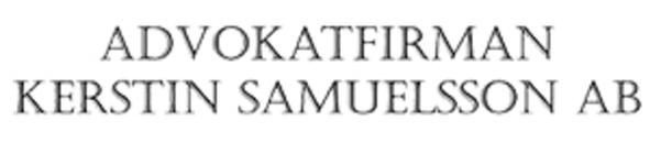 Advokatfirman Kerstin Samuelsson AB logo