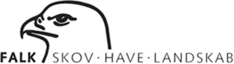Falk Skov Have Landskab logo