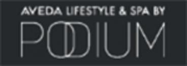 Podium Aveda lifestyle & spa logo